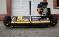 Mulching machines for ATVs with an engine of 18 HP