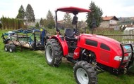 Skidders for small tractors