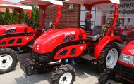 Small tractor Dongfeng DF-304 4WD with license plate number (30 perfomance price for 20 performance)